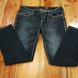 Seven jeans with crystal detail size 30
